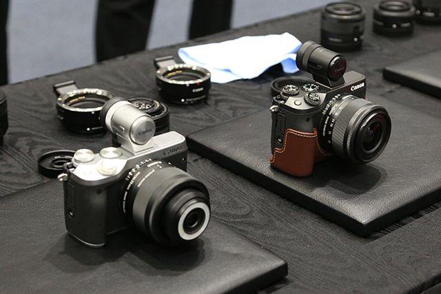 キヤノンが新型ミラーレスカメラEOS M6を発表! 性能はハイエンド機EOS M5クラス|ギズモード・ジャパン