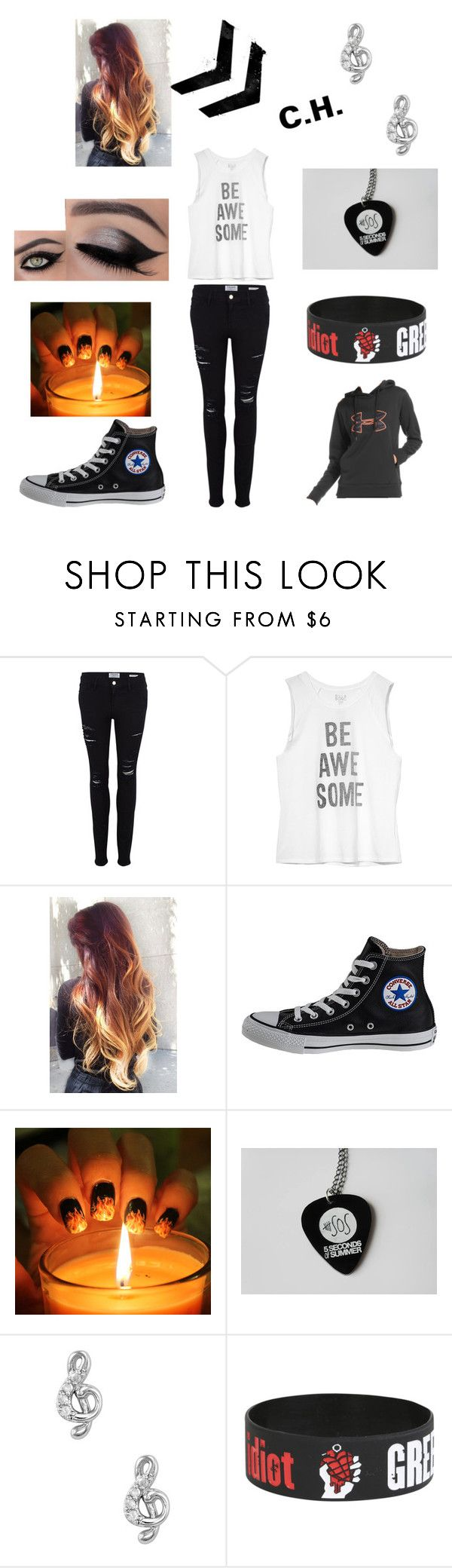 """""""Calum Hood Inspired"""" by samanthamyers-i on Polyvore featuring Frame Denim, Billabong, Converse and Under Armour"""