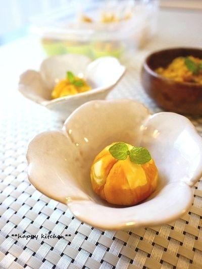 日持ちする作り置きおかず【かぼちゃの煮物で2種の副菜】 by たっき ...