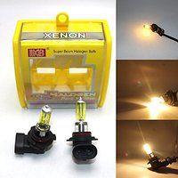 Cheap XENON Yellow Halogen Car Headlight Bulbs 3000K 12V Fog Lamp 9006 HB4 100W…