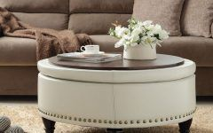 Unusual Round Ottoman Coffee Table