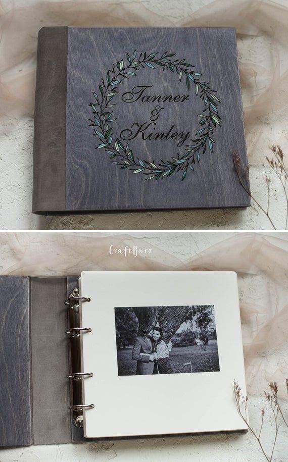 Custom Photo Album Rustic Wedding Photo Album 4x6 5x7 Etsy Custom Photo Albums Unique Photo Albums Wedding Photo Albums