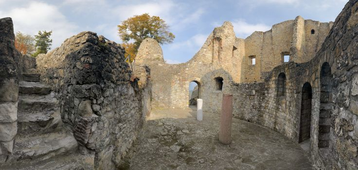 The Investiture Controversy - The Incident at Canossa - Medieval Catholicism; Ruins of the Castle at Canossa