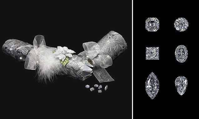 Luxurious Christmas crackers contain £1MILLION of diamonds