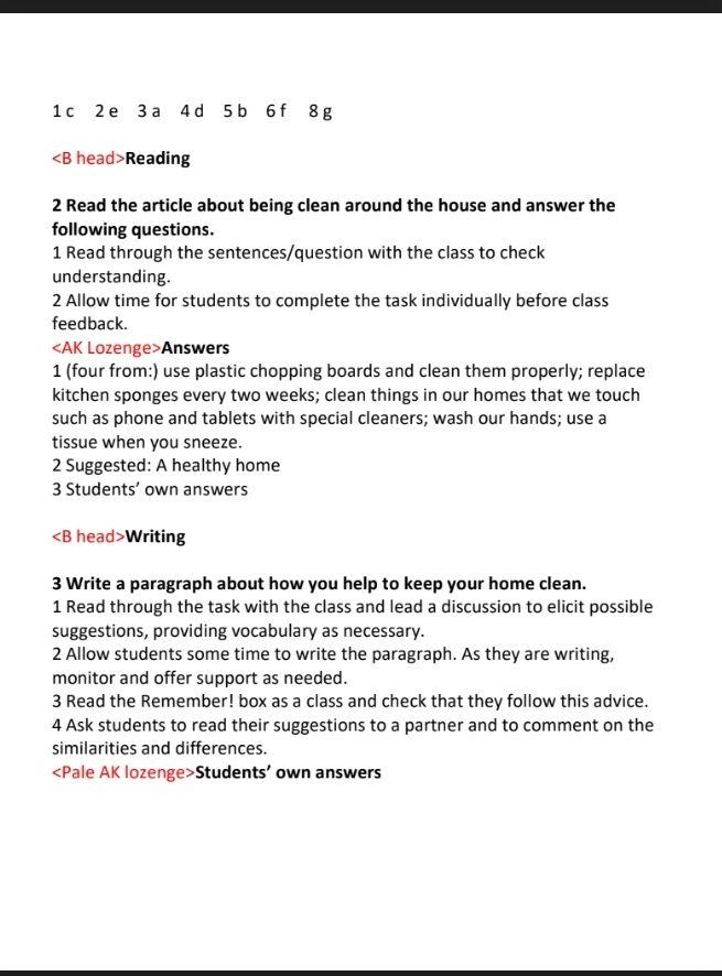 حمل دليل المعلم في اللغة الانجليزية للصف الاول الثانوى 2020 Teacher Guides Sentences This Or That Questions