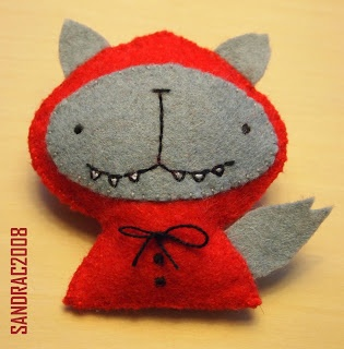 Lobo disfrazado de Caperucita Roja o Caperucita Roja como mujer lobo =P