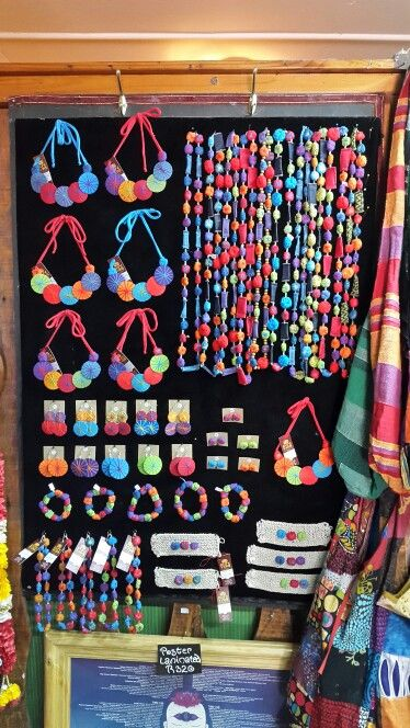 Handmade jewelry board