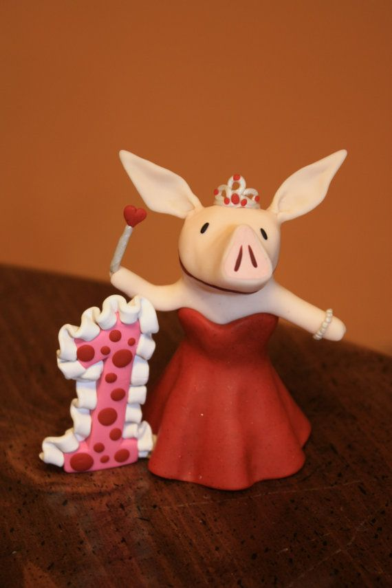 Personalized Princess Olivia Cake Topper By