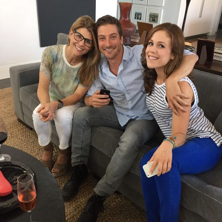 Embedded image permalink Daniel,Erin, and Lori watching the season 2 finale, from Daniel's twitter account