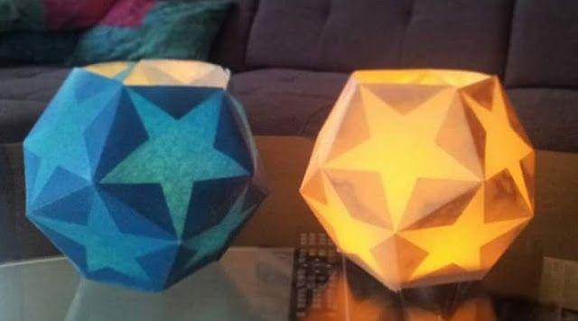 Mondbresal: Sternenlaterne beim Nähtreff mit Freebie zum Druck...