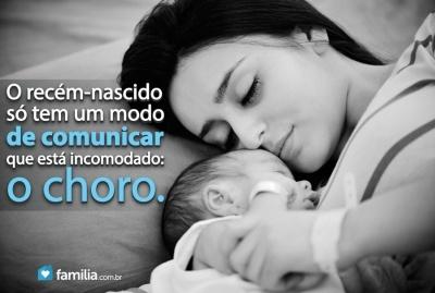 Familia.com.br   Como confortar seu recém-nascido. #Maternidade #Conforto #Bebe
