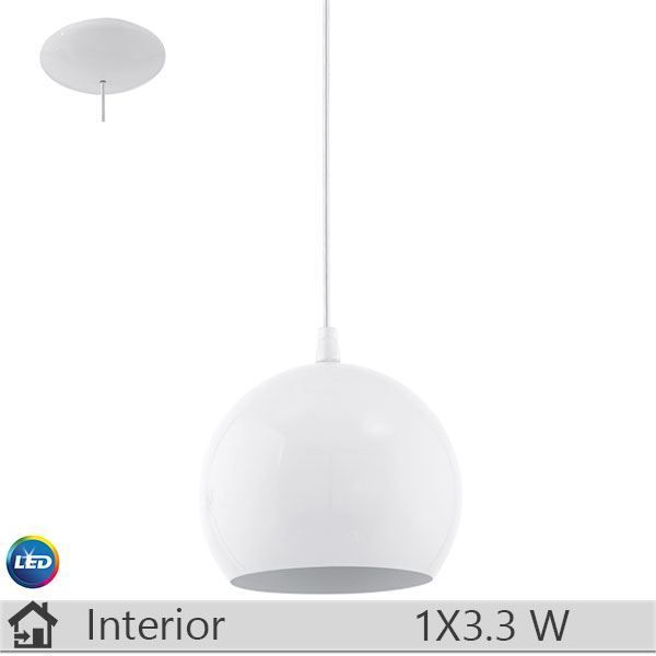Pendul LED iluminat decorativ interior Eglo, gama Petto, model 94246 http://www.etbm.ro/eglo