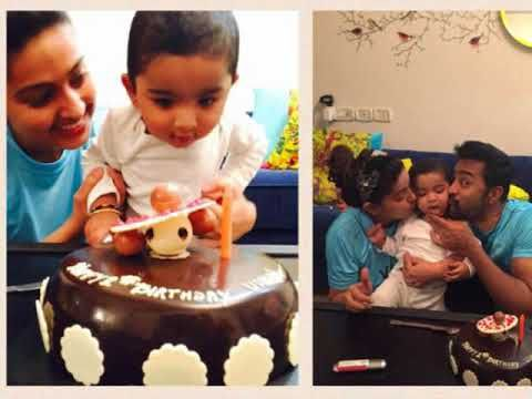 Actress Sneha Son Vihaan 1st Birthday Photos - Film Talkiez