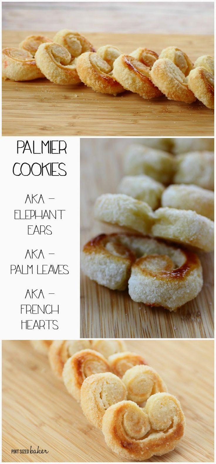 Palmier Cookies - AKA Elephant Ears - AKA Palm Leaves - AKA French ...