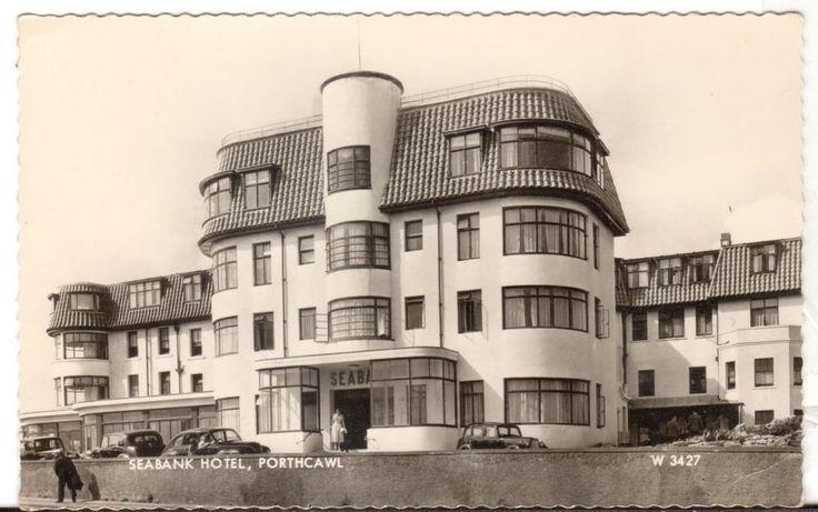 1963 Postmarked Postcard Seabank Hotel Porthcawl United Kingdom UK