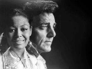 Gail Fisher and Mike Connors