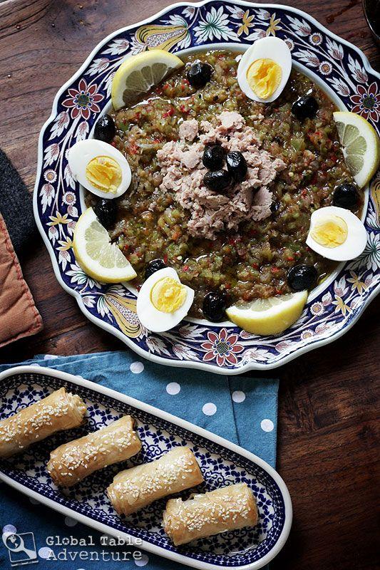 Recipe: Tunisian Grilled Salad with Tuna | Salata Mishwiyya