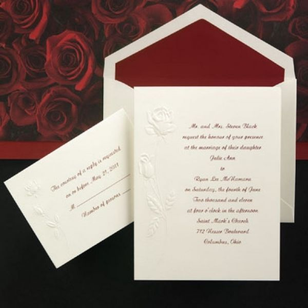 Flower Theme Cheap Wedding Invitation Wallpaper Behind Background Strips Different Black Paper Letter Awesome Inexpensive Kits Red