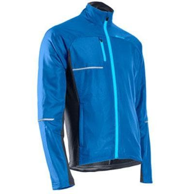 Sugoi Men's Titan Thermal Jacket, True Blue, XX-Large. Two front zip pockets, one chest pocket, and one back zip pocket for storing your training essentials. Two front zip pockets, one chest pocket and one back zip pocket for storing your training essentials. Zero Plus fabric on back panel and under arms for full motion stretch and warmth. ZeroPlus fabric on back panel and under arms for full motion stretch and warmth. Variation Attributes: (XX Large) Size.