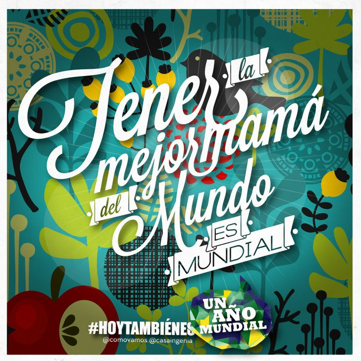 #HoyTambiénEsViernes dedicado a todas las #mamás en su día por ser #mundiales!