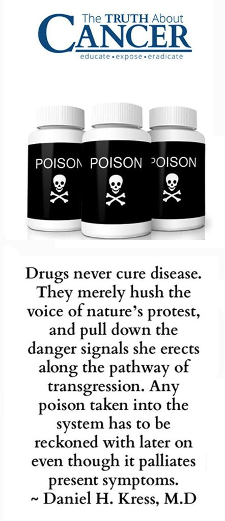 Pharmaceutical companies don't cure patients....they create clients! Inform yourself and discover the Truth About Cancer.