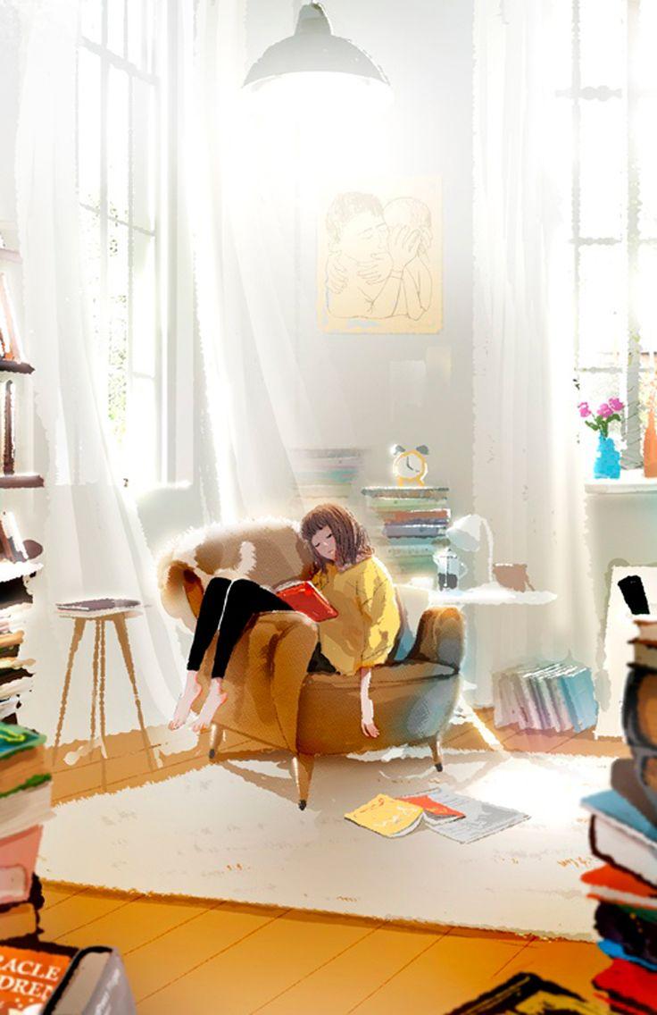 The Art Of Animation, Kim Ji-Hyuck (Hanuol) http://www.picturebook-illust.com/illustrator/gallery_set.html?id=hanuol=7_id=