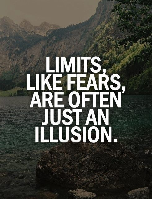 Adrenaline rush. It's all an illusion #inspiration #positive words