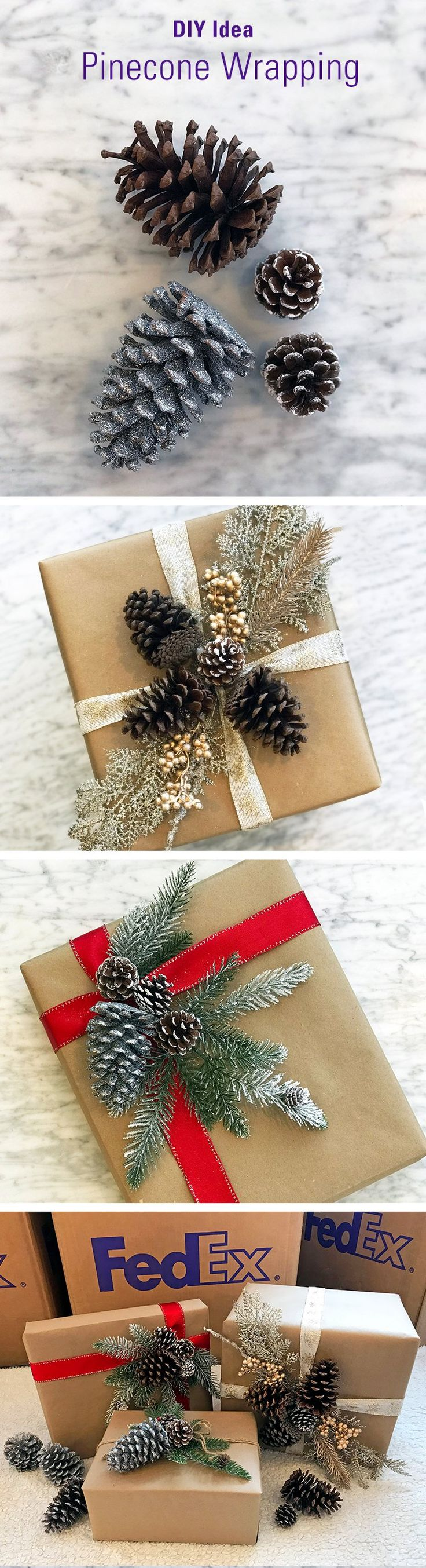 Take holiday wrapping to the next level