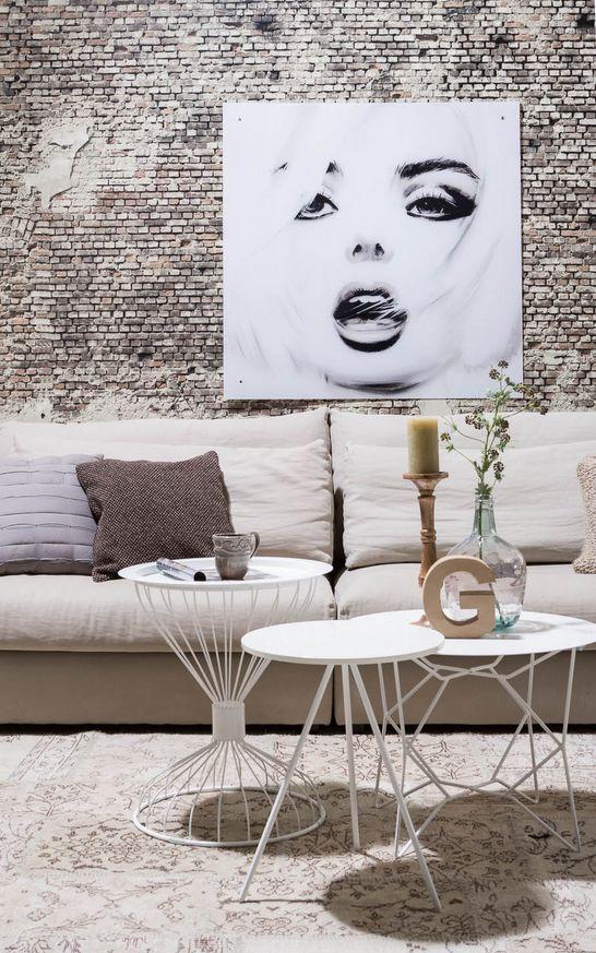 198 best goossens landelijk wonen images on pinterest villas live and villa - Idee schilderij living ...