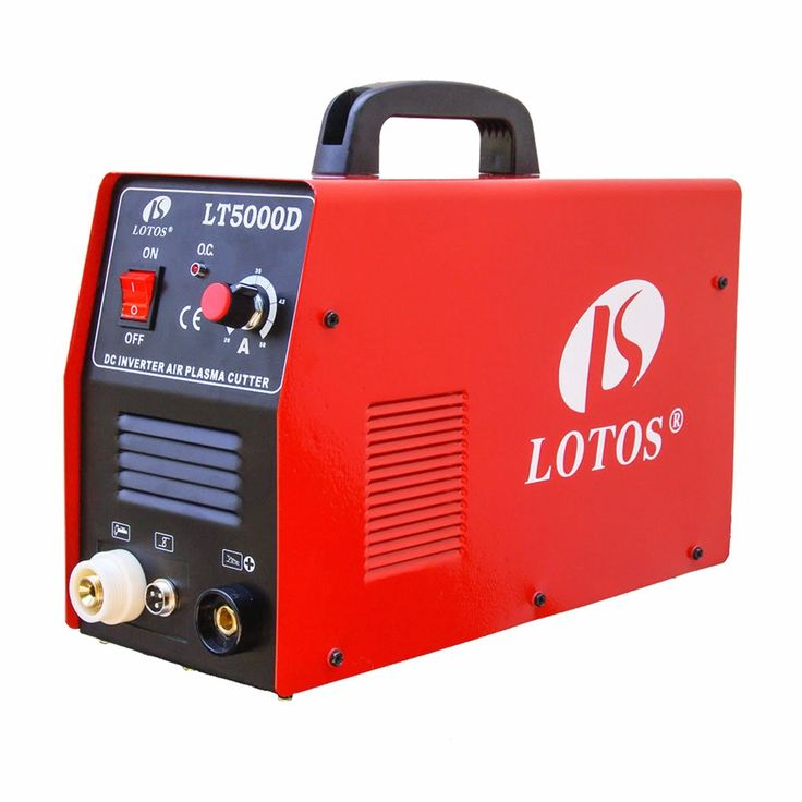 Plasma Cutter 50 Amp Dual Voltage Compact Metal Cutter Lotos LT5000D Clean Cut #Business #Industrial #Manufacturing #Metalworking #LT5000D