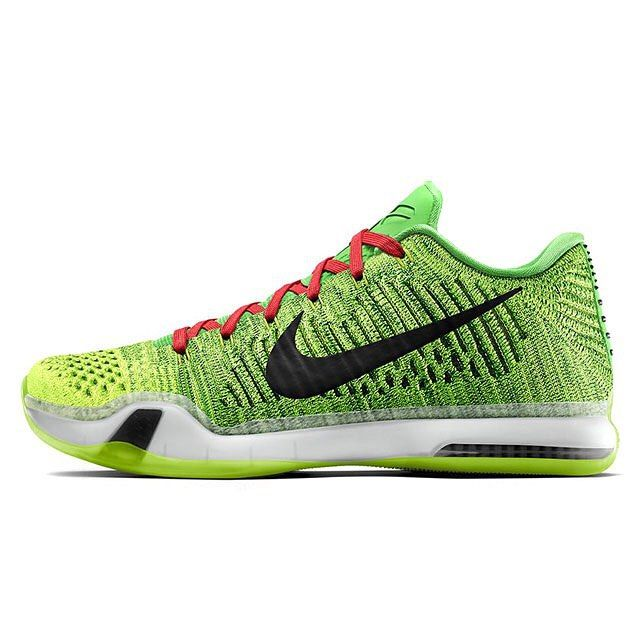 nike shoes on amazon kobes 11 grinch christmas 842671