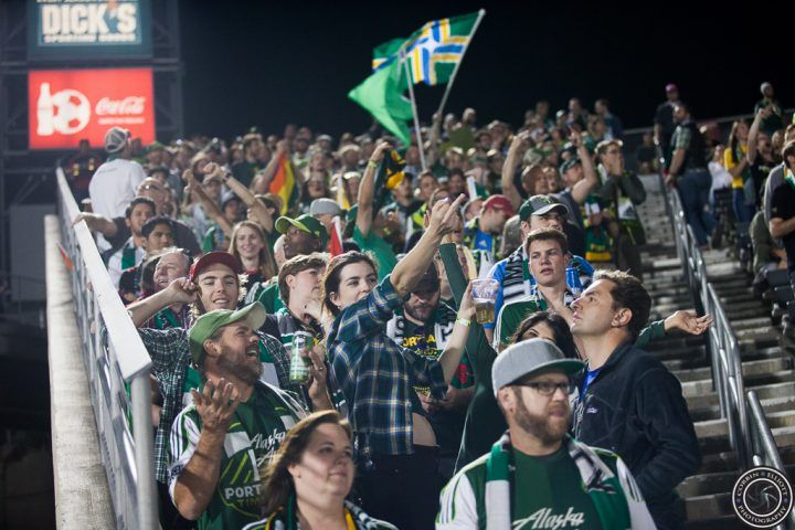 Match in pictures: Colorado Rapids versus Portland Timbers