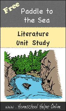 Homeschool Helper Online's Paddle to the Sea Unit Study