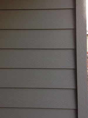 Exterior paint color sherwin williams - retreat  Love this grey......now for the white trim color!