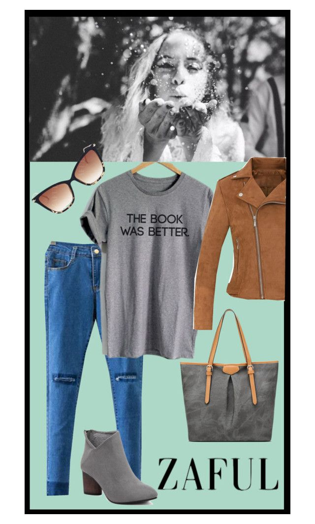 """The book was better"" by melissa-clark-2 ❤ liked on Polyvore"