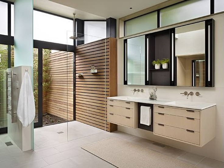 Towel Warmer, Concrete, Carpet, Marble - simple, Contemporary, Craftsman, European, Inset, Double, Powder/Half Bath