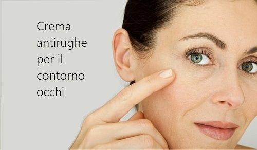 Crema antirughe per il contorno occhi