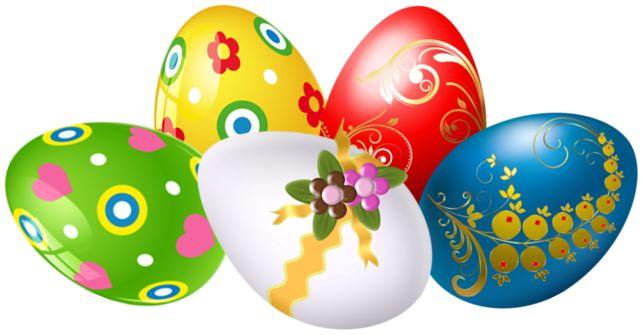 9 Best Clip Art Easter Egg Clusters Images On Pinterest