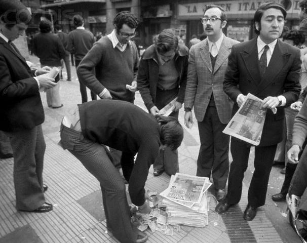 Días después del golpe de estado aparecen algunos periódicos, totalmente censurados