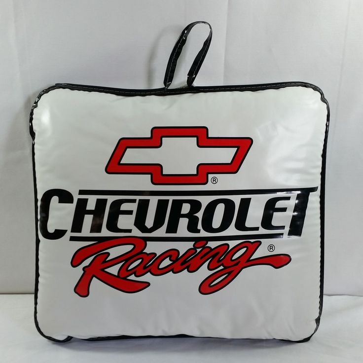 Chevrolet Racing Stadium Cushion Thick Sports Seat Mens Gift Cars Chevy