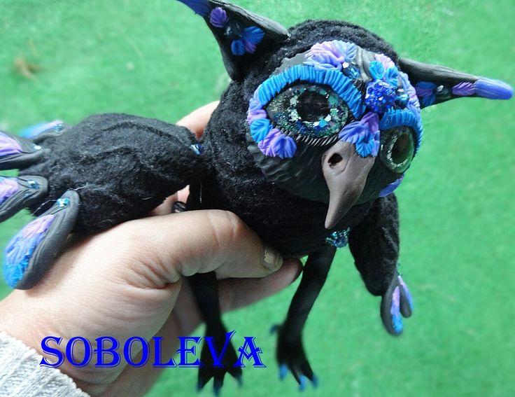 Сова кукла сова