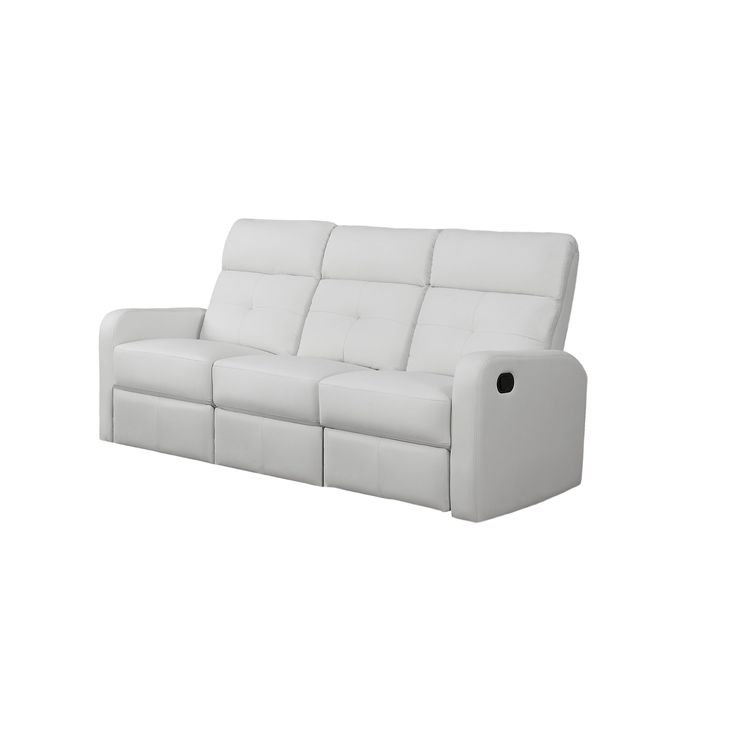 Upholstered in brilliant white bonded leather with padded head and arm rests lumbar support and reclining mechanism this will be the perfect addition to ...  sc 1 st  Pinterest & 62 best recliners images on Pinterest | Reclining sofa Recliners ... islam-shia.org