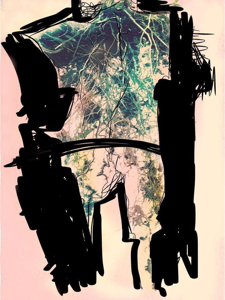 KöK Üzeri N Erkek #art#artist#sanat#mixedmedia#digitalart#canvas