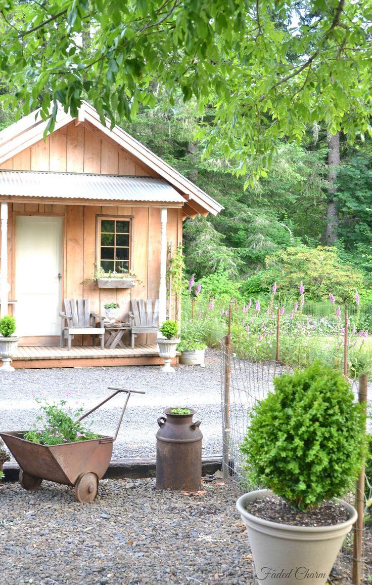 17 meilleures images propos de ma cabane au fond du jardin sur pinterest jardins abris de - Construire cabane jardin tours ...