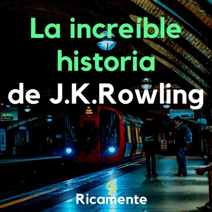 ¿Sabías que J.K.Rowling, decidió acabar y publicar Harry Potter en uno de los peores momentos de su vida? Cuando tomó la decisión era una madre soltera que pasaba por muchas dificultades, sobreviviendo a duras penas y con depresión. Descubre toda su historia en https://ricamente.net/la-historia-de-jkrowling/ #ricamenteblog #blog #historiasdesuperacion #motivacion #superacion #exito #millionaria #escritora #jkrowling