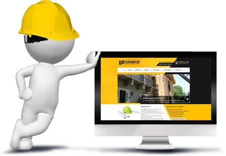 Strona www dla usług budowlanych