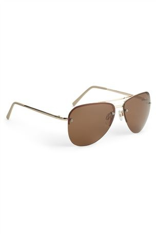 Polarised Aviator Style Sunglasses