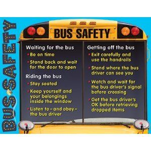 Safety on the Bus | Back to School via @Leslie Pleasants