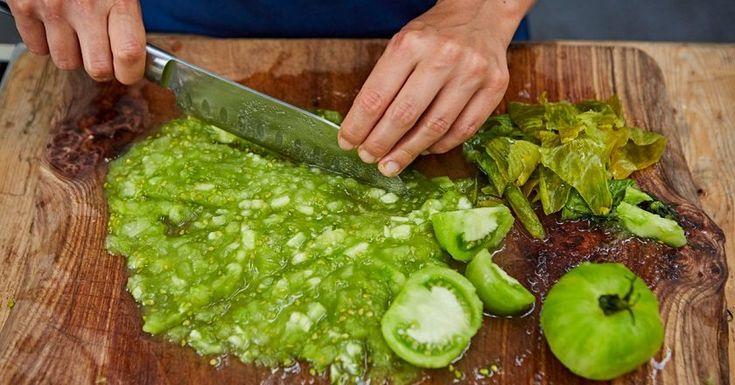 Vegetariánsky kaviár zo zelených paradajok