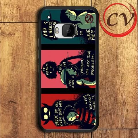 Adventure Time HTC One M9 Black Case